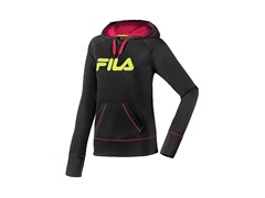 Fila Performance Hoody - Black/Pink