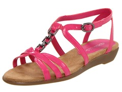 Aerosoles Attache Sandal, Pink Patent