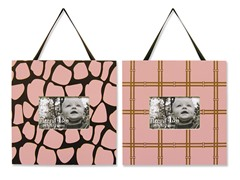 Kenya Pink 2-Piece Frame Set