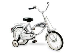 Cruiser 14 inch Silver Bike