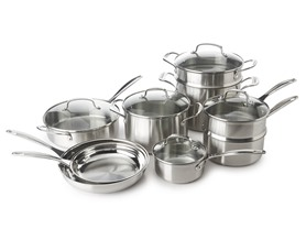 Cuisinart 14-Pc. Stainless Steel Cookware Set