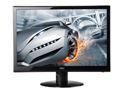 "AOC 27"" 1080p LED Monitor with Speakers"