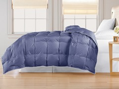 240TC Down Comforter-Indigo-Twin