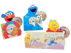Sesame Street Musical Board Book Set