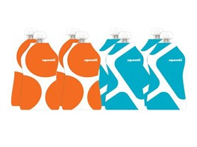 Squooshi Reusable Food Pouch for Kids 8-Pack