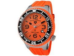 Men's Neptune Watch - Orange/Orange