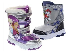 Paw Patrol or Frozen Snow Boots