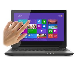 "Toshiba 11.6"" Dual-Core Touchscreen Laptop"