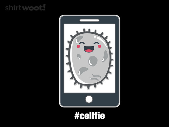 Image of #cellfie T Shirt