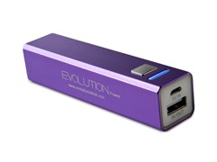 Rechargeable USB Charger - Purple