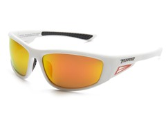 Peppers Apex White/Red Sunglasses