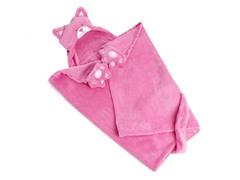 Cat Hooded Blanket