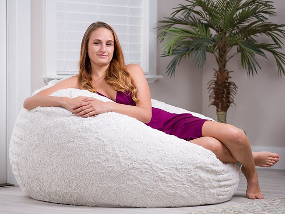 Phenomenal Cordaroys Faux Fur Bean Bag Chair Caraccident5 Cool Chair Designs And Ideas Caraccident5Info