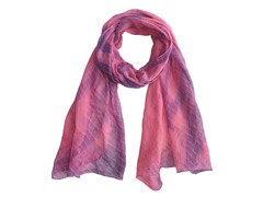 Tie Dye Wrap Pink & Purple