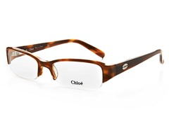 Chloe CL1143.C03.52-17 Optical Frames - Khaki Horn