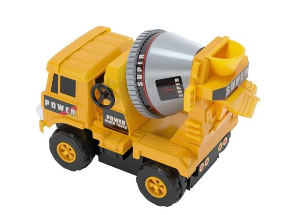 Mixer Truck Toy : Mota mini construction toy mixer truck kids toys