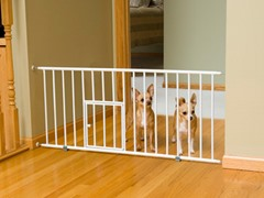 Mini Metal Step Over Pet Gate