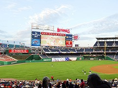 Washington Nationals Panoramic