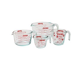 Pyrex 4-Piece Measuring Cup Set