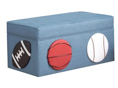 Three Sport Storage Bench