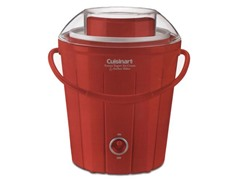 Cuisinart Bucket Ice Cream, Red