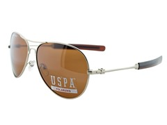 Polarized Lexington Sunglasses, Gold