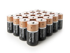 Duracell D Alkaline Batteries - 20 Pack
