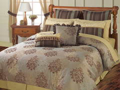 Bastille 24Pc Bedding Set - Queen