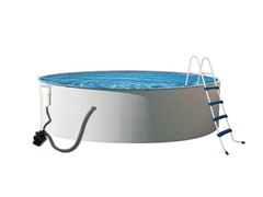 Metal Wall Swimming Pool, 18' x 52""