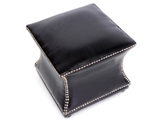 Ellastone Leather Ottoman