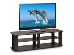 Entertainment Center TV Stand - Brown