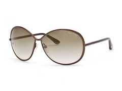 Tom Ford Shiny Brown/Brown Sunglasses
