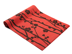 Fitness Basics Red & Brown Yoga Mat