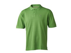 Men's Logo Polo - Key Lime