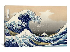 The Great Wave at Kanagawa 1829