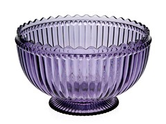 Modern Vintage Serving Bowl Amethyst