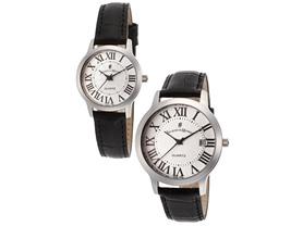 Jacques du Manoir Men's And Women's Watch Set