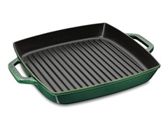 Staub Cast-Iron Double-Handled Grill Pan
