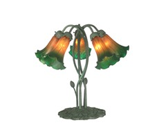17 X 17 5-Light Lily Table Lamp