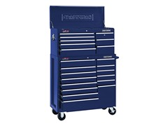 40-Inch Chest and Rolling Cart, Blue