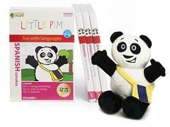 Spanish for Kids: Language Box Set Volume I w/Panda Plush