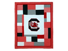 South Carolina Quilted Throw