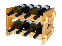Chateauroux 8-Bottle Wine Rack