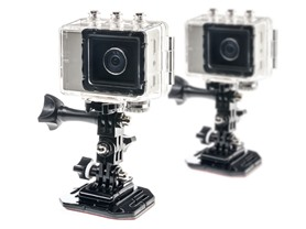 Astak 1080p Sports Action Cam - 2 Pack