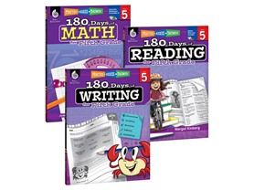 Reading, Writing & Math Workbook Bundle, You Pick