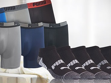 PUMA Men's Socks and Underwear