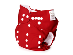 Trend Lab Adjustable Cloth Diaper - Red