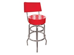Pub Stool with Back Check Coca-Cola®