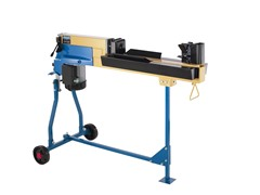 4-Ton Wood Splitter with Fan and Mobile Base