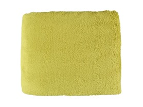 Cozy Fleece 50x60 Throw-Citronella